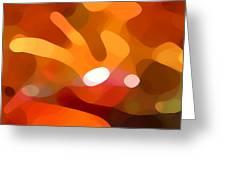 Fall Day Greeting Card by Amy Vangsgard