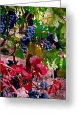 Fall Delight I Greeting Card by Ken Evans