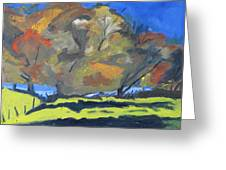 Fall On A Blue Sky Greeting Card by Francois Fournier