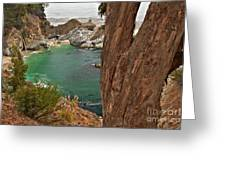 Falling Into The Bay Greeting Card by Adam Jewell
