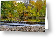 Falls Fall-2 Greeting Card by Baywest Imaging