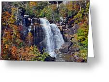 Falls In Fall Greeting Card by Lydia Holly