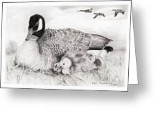 Family Greeting Card by Paul Treadway