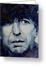 Famous Blue Raincoat Greeting Card by Paul Lovering