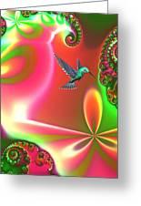 Fantasia Greeting Card by Sharon Lisa Clarke