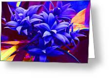 Fantasy Pine Greeting Card by Margaret Saheed