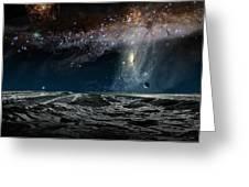 Far Future Earth Greeting Card by Don Dixon