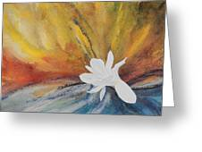 Farewell Greeting Card by Adel Nemeth