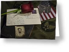 Farewell Greeting Card by Amber Kresge