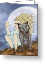 Farewell The Journey Begins Greeting Card by Linda Marcille