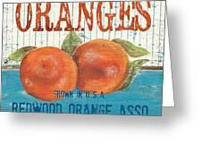 Farm Fresh Fruit 2 Greeting Card by Debbie DeWitt