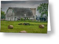 Farm Scene Greeting Card by Paul Freidlund