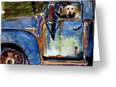 Farmhand Greeting Card by Molly Poole
