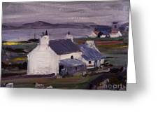 Farmsteading Greeting Card by Francis Campbell Boileau Cadell