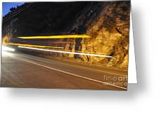 Fast Car Greeting Card by Gandz Photography