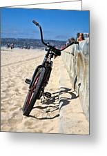 Fat Tire - Color Greeting Card by Peter Tellone