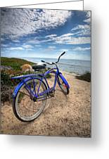 Fat Tire Greeting Card by Peter Tellone