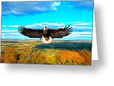 Father Restore Our Land Greeting Card by Randall Branham