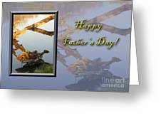 Father's Day Fish Greeting Card by Jeanette K