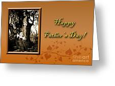 Father's Day Willow Tree Greeting Card by Jeanette K