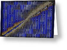 Fault Line Blues Greeting Card by Tim Allen