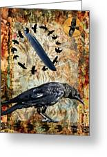 Feather Of Remembering Greeting Card by Judy Wood