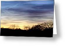 February 1 Dawn 2013 Greeting Card by Maria Urso