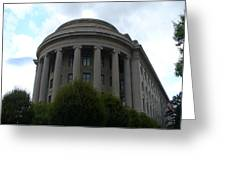 Federal Trade Commission Greeting Card by Lingfai Leung