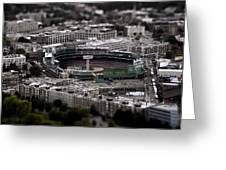 Fenway Park Greeting Card by Tim Perry