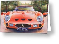 Ferrari 250 Gto Greeting Card by Robert Hooper