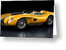 Ferrari 250 Testa Rossa - Bloom Greeting Card by Marc Orphanos