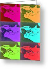 Ferrari Gto Pop Art 3 Greeting Card by Naxart Studio