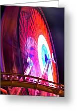 Ferris Wheel Greeting Card by Gandz Photography