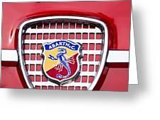 Fiat Emblem 2 Greeting Card by Jill Reger