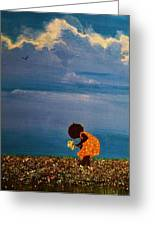 Field Of Colors Greeting Card by Edith Peterson-Watson