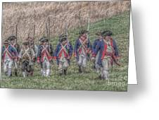 Field Of Honor American Revolution Greeting Card by Randy Steele