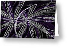 Fields Of Energy Greeting Card by David Winson