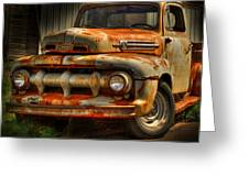 Fifty Two Ford Greeting Card by Thomas Young