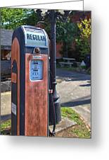 Fill'er Up Greeting Card by Gordon Elwell