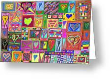 find U'r love found v6 Greeting Card by Kenneth James