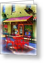 Findlay Market In Cincinnati 1 Greeting Card by Mel Steinhauer