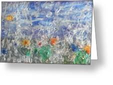 Finestra Su Eco Giardino Greeting Card by Andrea Cola