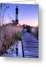 Fire Island Reflections Greeting Card by JC Findley