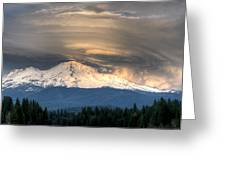Fire On The Mountain Greeting Card by Loree Johnson