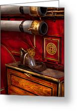 Firemen - An Elegant Job Greeting Card by Mike Savad