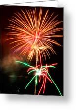 Fireworks 2011 Series 4 Greeting Card by Chris Tobias