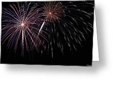 Fireworks 4 Greeting Card by Andrew Nourse