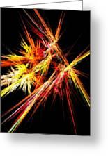 Fireworks Greeting Card by Anastasiya Malakhova