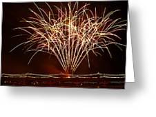 Fireworks At Tempe Town Lake Greeting Card by Saija  Lehtonen