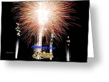 Fireworks Finale Greeting Card by Frozen in Time Fine Art Photography